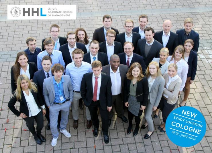 Premiere: Erster berufsbegleitender Master-Studiengang in Management (M.Sc.) der HHL in Köln mit 28 Studierenden gestartet