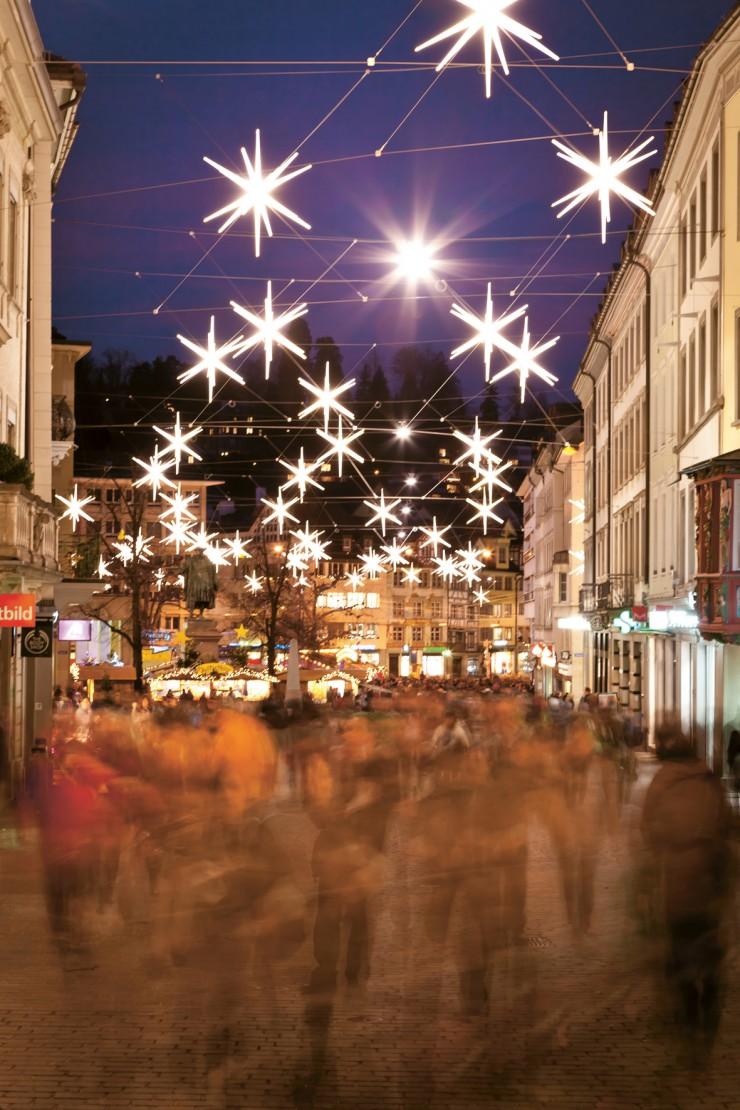 St.Gallen: Stadt der 700 Sterne