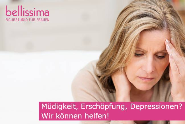 Müdigkeit, Erschöpfung, Depressionen? - belissima Figurstudio kann helfen!