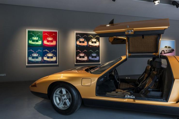 Benz-Klassiker und Warhols