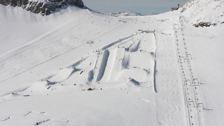 Winterfeeling am Hintertuxer Gletscher