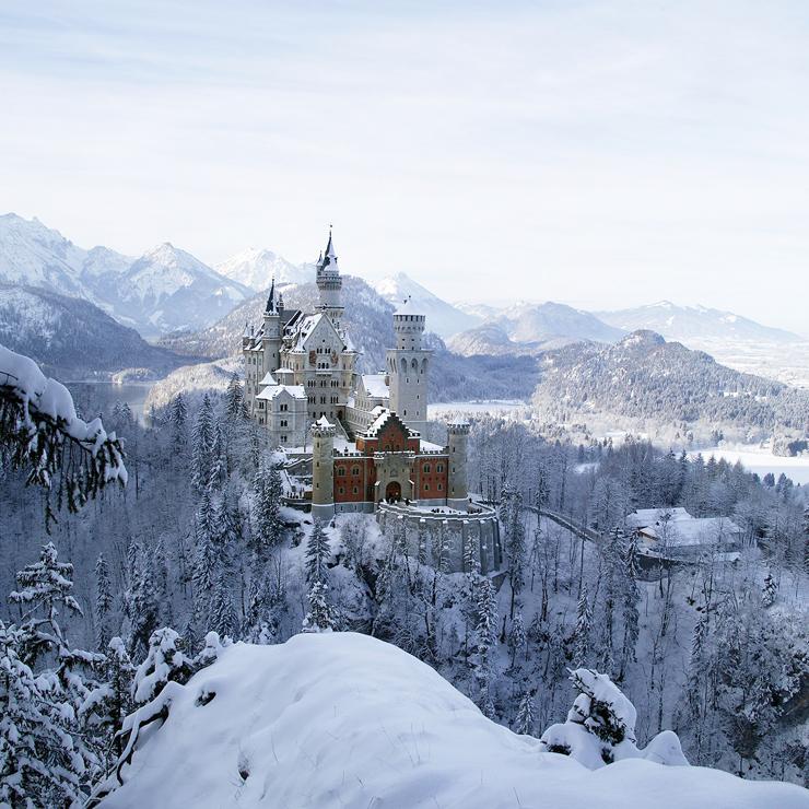 Wintertraum in Schwangau im Allgäu