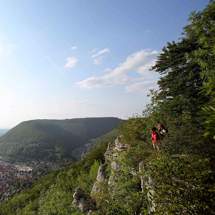 Wanderurlaub auf der Schwäbischen Alb - Grafensteige Bad Urach