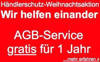 Sicher verkaufen für eBay-Händler - AGB-Service gratis für 1 Jahr