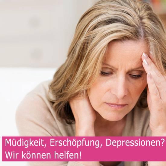 Müdigkeit, Erschöpfung, Depressionen? - Wir können helfen!