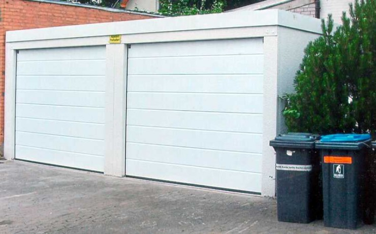Garagen nur gemäß Bebauungsplan