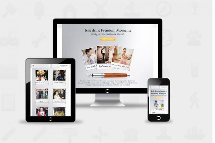 Neue Kampagne von Internetagentur ACID21: premium-momente.de