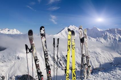 Fasten und Skifahren