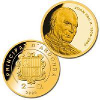 Offizielle Gedenkmünze zur Seligsprechung von Johannes Paul II. exklusiv über BAYERISCHES MÜNZKONTOR erhältlich