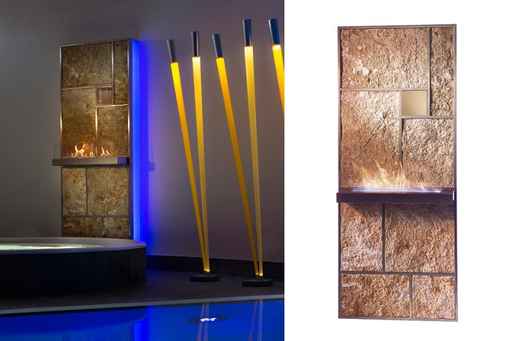 Innovatives BAU 2015 Highlight - die Design-Wärmewand JUWALL von JUMA EXCLUSIVE