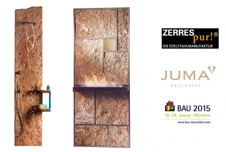 BAU 2015 - ZerresPur! und JUMA EXCLUSIVE gehen Design-Kooperation ein