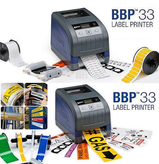Etikettendrucker BBP33 - So einfach muss Etikettendruck sein