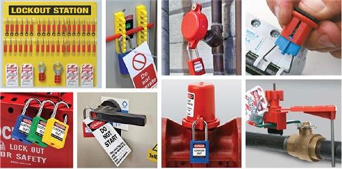 Lockout-Verriegelungen und Warnanhänger zur Vorbeugung von Unfällen