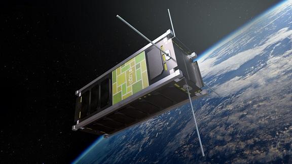 SpaceBillboard, die erste Werbetafel im Raum startbereit