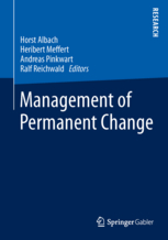 HHL Research Center CASiM Publishes Book on Management of Permanent Change