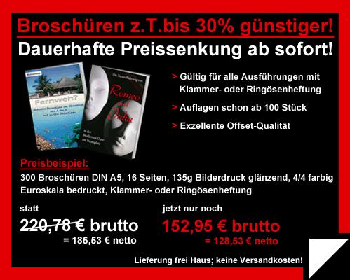 Primus-Print.de senkt Preise für Broschüren um bis zu 30 Prozent