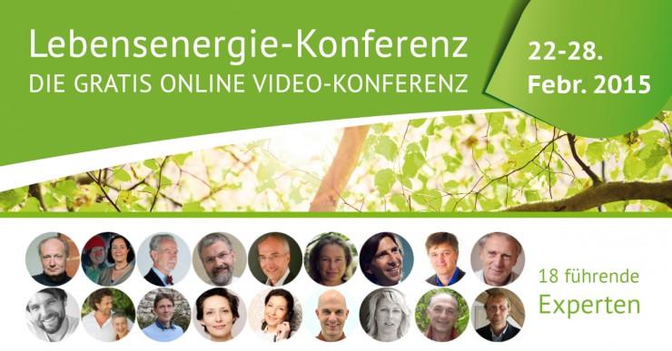 Zweite Lebensenergie-Konferenz startet am 22. Februar 2015