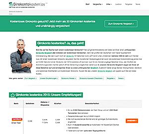 Verbraucherinformationsportal girokontokostenlos.net ist wieder online