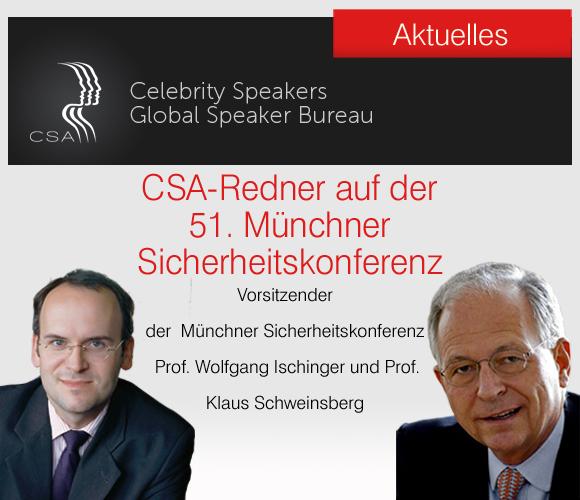 CSA Redner auf der 51. Münchner Sicherheitskonferenz