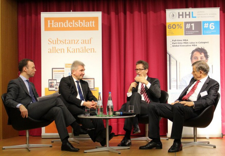 4. Handelsblatt Business School Talk zu
