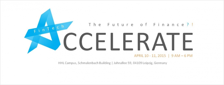 10./11. April 2015 in Leipzig: Accelerate@HHL-Konferenz