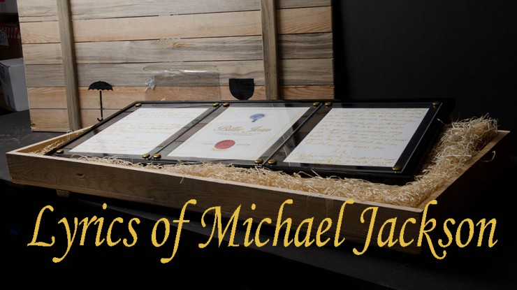 Original Lyrics by Michael Jackson