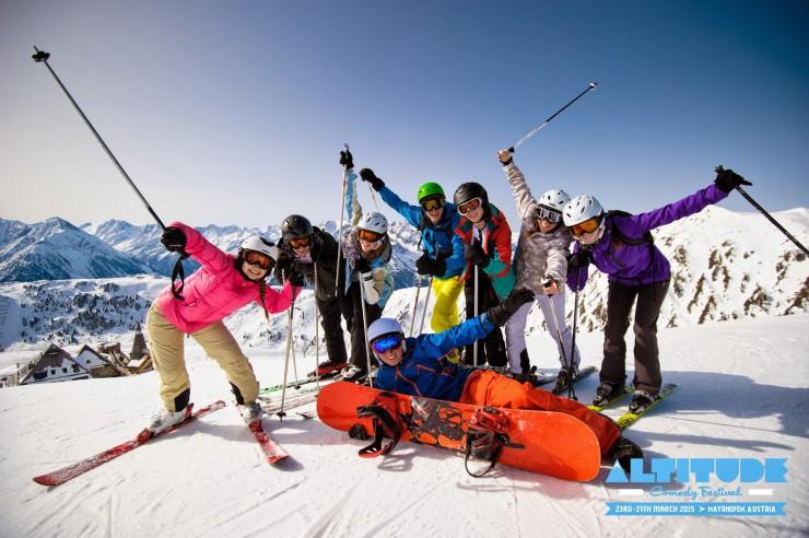 Mayrhofen am Nabel der Comedy- und DJ-Welt: Altitude Festival und Snowbombing