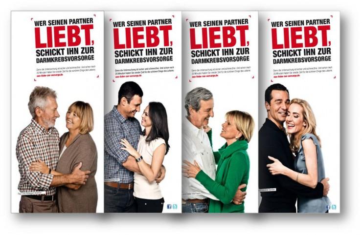 Neue Flyer zur Darmkrebsvorsorge