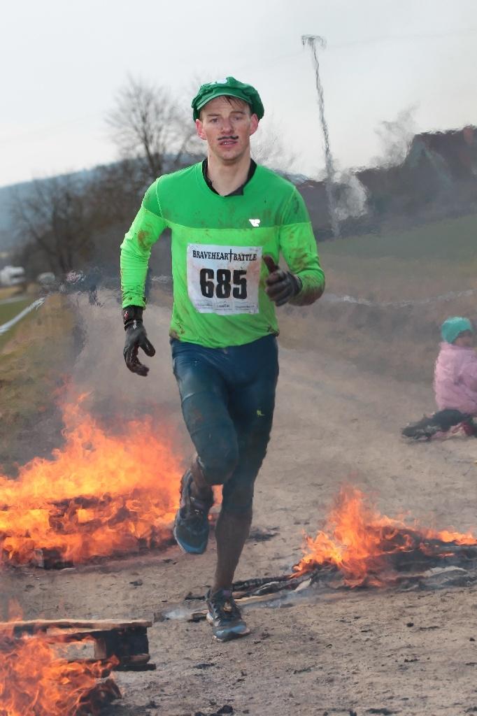 BraveheartBattle 2015: 2.541 Läufer wagten sich auf den