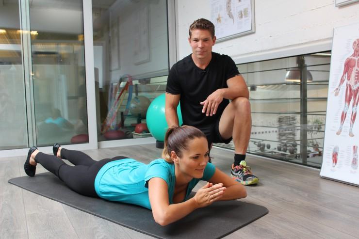Motivations-Trainer und Fitness-Experte Michael Bauer mit  JETZT SCHLANK-App