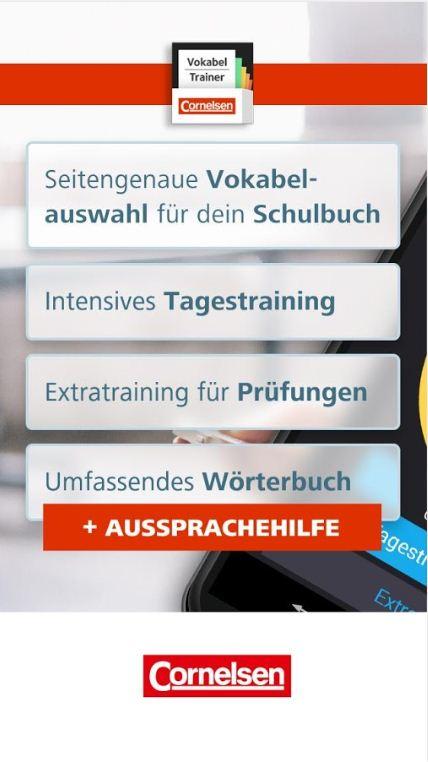 Mobiles Vokabeltraining mit À plus! und À toi - Cornelsen Vokabeltrainer App für das Fach Französisch erschienen