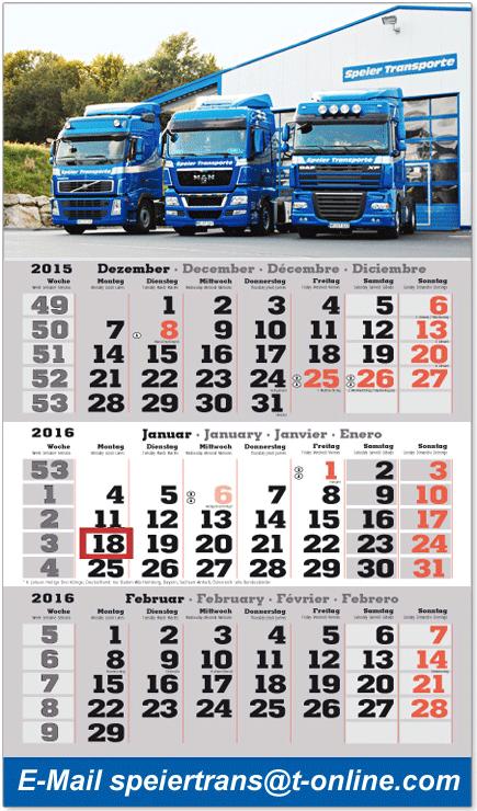 Primus-Print.de startet Kalenderverkauf für das Jahr 2016
