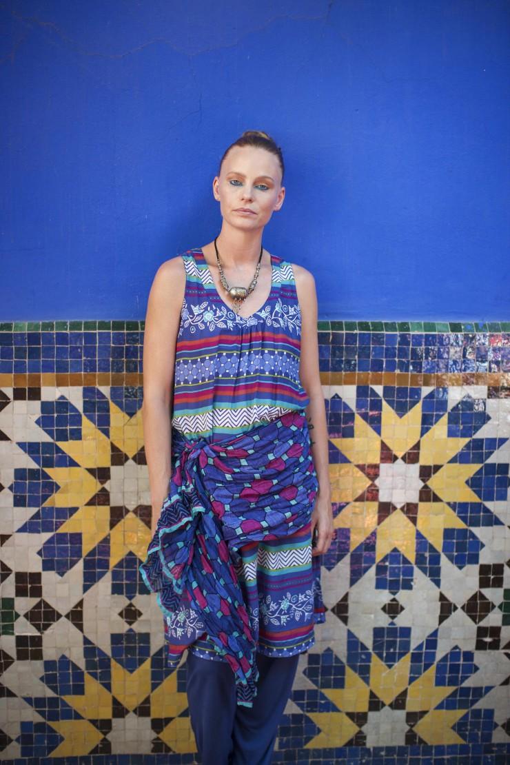 BLAUES MOSAIK: Gudrun Sjödéns Sommerkollektion 2015 mit Inspirationen aus Paris, Stockholm und Marrakesch