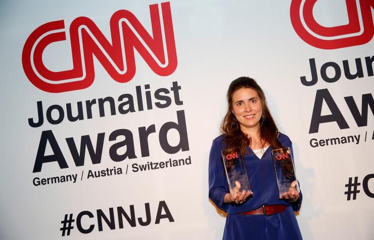 CNN Journalist Award 2015: DRadio Wissen Autorin Stephanie Doetzer gewinnt mit persönlicher Syrien-Geschichte