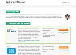 Mit dem neuen Carsharing-Portal in Wien rasch den perfekten Anbieter finden