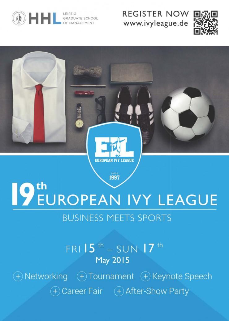 Hannover 96-Präsident Martin Kind eröffnet Fußballturnier European Ivy League an der HHL Leipzig Graduate School of Management