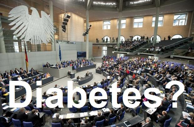 Das-Diabetes-TV macht den Stress-Test - Diabetes und Bundestag