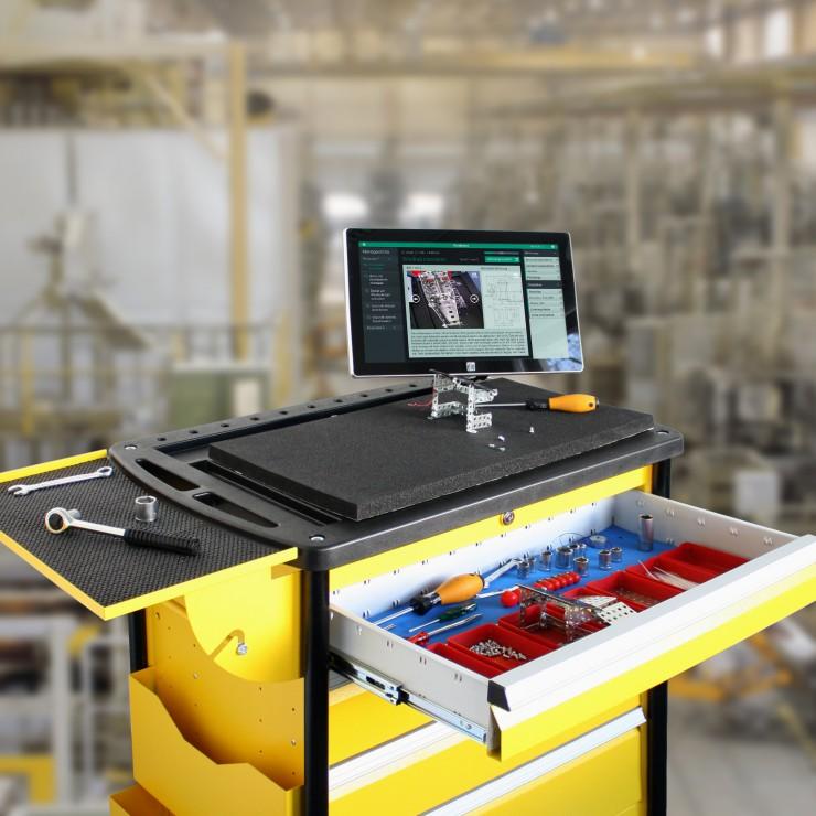 HANNOVER MESSE 2015: Intelligente Assistenz für die Produktion