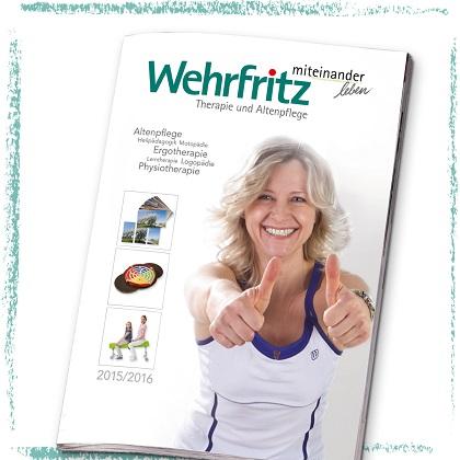 Neuer Wehrfritz-Katalog für Therapie und Altenpflege