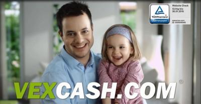 Vexcash: In nur 28 Sekunden zum Kurzzeitkredit