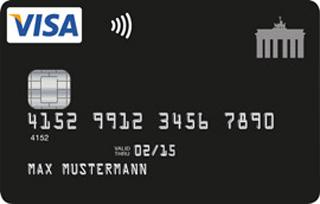 Visa Kreditkarte mit Kreditrahmen trotz grenzwertiger Bonität