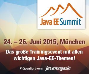 Java EE Summit geht im Juni in die nächste Runde