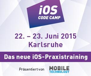 iOS Code Camp startet im Juni in Karlsruhe
