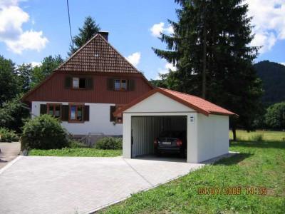 Moderne Garagen mit Garagenrampe.de