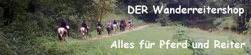 DER Wanderreitershop - ALLES für Pferd und Reiter