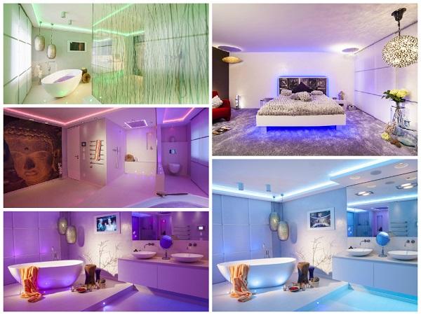 Emotionales Design: Wohnräume und Lichtbad - vom Reihenhaus zum exklusiven Wohntraum