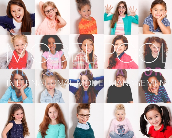Kindermodelle haben viel Spaß und große Chancen bei Model Pool