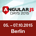Die AngularJS Days 2015