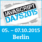 Die JavaScript Days 2015