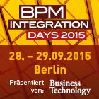 Die BPM & Integration Days 2015